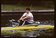 Molesey, Great Britain. GBR W1X Trish REID, 1992 British International Rowinig Training on the Henley Reach, Surrey,  [Mandatory Credit. Peter Spurrier/Intersport Images] +1992 +Molesey +Henley 1992 GBRowing Training, Molesey/Henley, United Kingdom