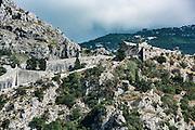 St John Fortress, St. John's Hill, Kotor, Montenegro