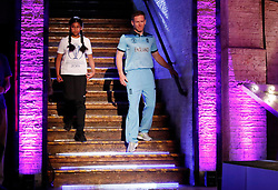 England's Eoin Morgan before the press conference during the Cricket World Cup captain's launch event at The Film Shed, London.