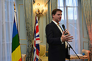 """© Licensed to London News Pictures. 11/09/2012. London, UK Nick Clegg makes a speech at a reception to celebrate the Government's Consultation on Gay Marriage. Today, 11 September 2012. In the speech he withdrew comments about opponents of gay marriage which in an early draft released to media he called them """"bigots"""". Photo credit : Stephen Simpson/LNP"""