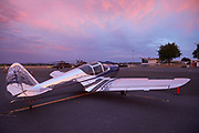 Swift at sunset at Warbirds Over the West.