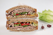 Sandwich with Cold cuts of beef