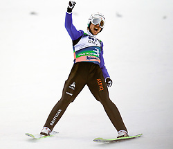 16.03.2012, Planica, Kranjska Gora, SLO, FIS Ski Sprung Weltcup, Einzel Skifliegen, im Bild Simon Amann (SUI),  during the FIS Skijumping Worldcup Individual Flying Hill, at Planica, Kranjska Gora, Slovenia on 2012/03/16. EXPA © 2012, PhotoCredit: EXPA/ Oskar Hoeher