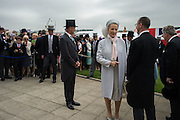 PRINCESS MICHAEL OF KENT, 2016 Investec Derby, Epsom Downs.  4 June 2016