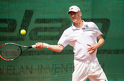 Robert Kukovica, Drzavno prvenstvo novinarjev v tenisu 2019, on June 12, 2019 in Tivoli, Ljubljana, Slovenia. Photo by Vid Ponikvar / Sportida