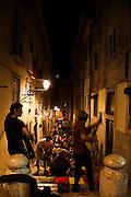 Musicians at Lisbon´s Bairro Alto.PHOTO PAULO CUNHA/4SEE