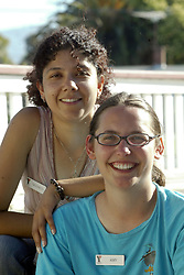 Counselors at YMCA day camp, Redwood City, Calif., Friday, July 1, 2005. (Photo by D. Ross Cameron)