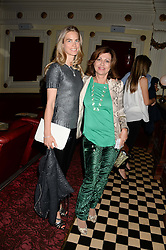 Left to right, HANNAH COMOLLI and PILAR BOXFORD at a private screening of Cages of Shame in aid of Animals Asia UK held at The Electric Cinema, 191 Portobello Road, London W11 on 17th June 2013.