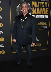May 8, 2019 - Los Angeles, California, USA - 08, May 2019 - Pasadena, California. Bruce Buffer attends 'What's My Name | Muhammad Ali' HBO Documentary Premiere at Regal Cinemas LA LIVE 14 in Los Angeles, California. (Credit Image: © Billy Bennight/ZUMA Wire)