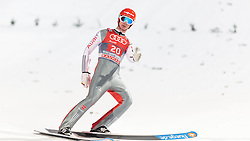 06.01.2016, Paul Ausserleitner Schanze, Bischofshofen, AUT, FIS Weltcup Ski Sprung, Vierschanzentournee, Bischofshofen, Finale, im Bild Andreas Wank (GER) // Andreas Wank of Germany reacts after his 1st round jump of the Four Hills Tournament of FIS Ski Jumping World Cup at the Paul Ausserleitner Schanze in Bischofshofen, Austria on 2016/01/06. EXPA Pictures © 2016, PhotoCredit: EXPA/ JFK
