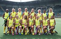 DEN HAAG - Team van Zuid Afrika dames. COPYRIGHT KOEN SUYK