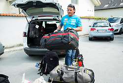 Peter Pen at departure of Slovenian Men Ski Team to training camp in Argentina and Chile on August 21, 2014 in SZS, Ljubljana, Slovenia. Photo by Vid Ponikvar / Sportida.com