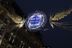 London's key shopping streets are all lit up in time for the Christmas rush. 16 Nov 2018 Pictured: Regent Street. Photo credit: ROS/Capital Pictures / MEGA TheMegaAgency.com +1 888 505 6342