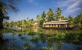 Backwaters of Kerela, India