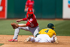 20160413 - Los Angeles Angels of Anaheim at Oakland Athletics