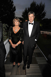 LADY ANNABEL GOLDSMITH and ZAC GOLDSMITH at the Royal Parks Foundation Summer Party hosted by Candy & Candy on the banks of the Serpentine, Hyde Park, London on 10th September 2008.