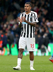 Newcastle United's Kenedy applauds the fans at the end of the Premier League match at Selhurst Park, London.