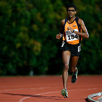 Jeevaneesh S/O Soundarajah of National University of Singapore in action during the men's 10000m event. (Photo © Lim Yong Teck/Red Sports) The 2018 Institute-Varsity-Polytechnic Track and Field Championships were held over three days in January.<br /> <br /> Story: https://www.redsports.sg/2018/01/15/ivp-day-one/<br /> <br /> Story: https://www.redsports.sg/2018/01/18/ivp-day-two/<br /> <br /> Story: https://www.redsports.sg/2018/01/23/ivp-day-three/