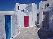 Greece, Amorgos, the Chora.