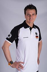 19-01-2015 GER: Portret Giovanni Guidetti bondscoach Nederland vrouwenteam<br /> Donderdag zal de Nederlandse volleybalbond de nieuwe bondscoach voor de vrouwen presenteren / <br /> 20.05.2014, OSP, Heidelberg<br /> Volleyball, Fotoshooting Nationalmannschaft Frauen 2014<br /> <br /> Giovanni Guidetti <br /> <br /> *****NETHERLANDS ONLY*****