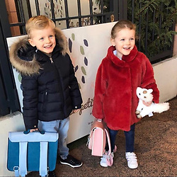"""Princess Charlene releases a photo on Instagram with the following caption: """"Back to School 2019"""". Photo Credit: Instagram *** No USA Distribution *** For Editorial Use Only *** Not to be Published in Books or Photo Books ***  Please note: Fees charged by the agency are for the agency's services only, and do not, nor are they intended to, convey to the user any ownership of Copyright or License in the material. The agency does not claim any ownership including but not limited to Copyright or License in the attached material. By publishing this material you expressly agree to indemnify and to hold the agency and its directors, shareholders and employees harmless from any loss, claims, damages, demands, expenses (including legal fees), or any causes of action or allegation against the agency arising out of or connected in any way with publication of the material."""
