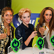 NLD/Naarden/20120307 - Uitriking Sky Radio Powervouwen Awards 2012, Danie Bles, Glennis Grace en Stacey Rookhuizen