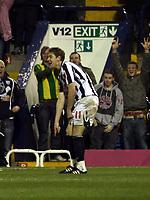 Photo: Mark Stephenson/Sportsbeat Images.<br /> West Bromwich Albion v Scunthorpe United. Coca Cola Championship. 29/12/2007.Zoltan Gera celebrates his goal