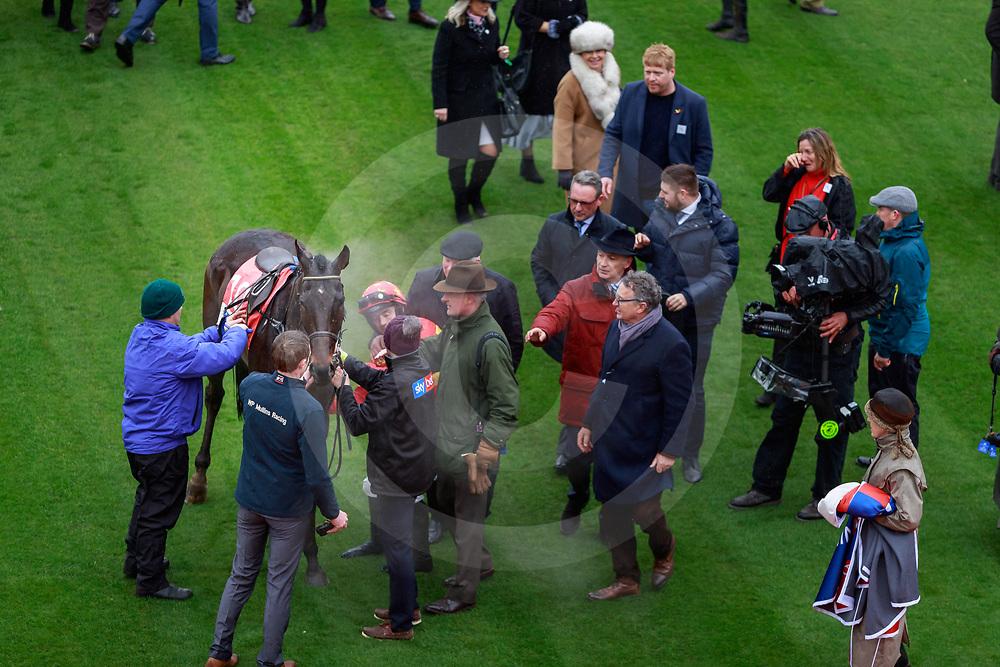 Klassical Dream (R. Walsh) wins The Sky Bet Supreme Novices' Hurdle Race Gr. 1 in Cheltenham 12/03/2019, photo: Zuzanna Lupa