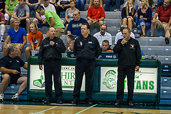 23 June 2012:  basketball officials. Illinois Basketball Coaches Association (IBCA) All Star game at Shirk Center, Illinois Wesleyan, Bloomington, IL