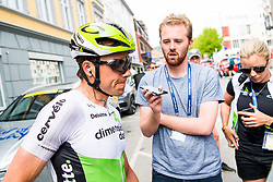 May 20, 2018 - Lillehammer, NORWAY - 180520 Edvald Boasson Hagen of Norway looks dejected after the last stage of the Tour of Norway on May 20, 2018 in Lillehammer..Photo: Jon Olav Nesvold / BILDBYRÃ…N / kod JE / 160254 (Credit Image: © Jon Olav Nesvold/Bildbyran via ZUMA Press)