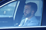 Juventus's Bosnian midfielder Miralem Pjanic arrives for training as part of Serie A restart at the Juventus Training Centre, Turin. Picture date: 20th May 2020. Picture credit should read: Jonathan Moscrop/Sportimage