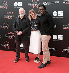Edinburgh International Film Festival, Thursday 22nd June 2017<br /> <br /> Juror's photocall<br /> <br /> Bernard Hill, Shauna Macdonald and James Faust<br /> <br /> (c) Alex Todd | Edinburgh Elite media