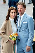 Koningsdag 2019 in Amersfoort / Kingsday 2019 in Amersfoort.<br /> <br /> Op de foto: Prins Pieter-Christiaan en prinses Anita