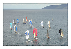 Sailing - The 2007 Bell Lawrie Scottish Series hosted by the Clyde Cruising Club, Tarbert, Loch Fyne..Brilliant first days conditions for racing across the three fleets...IRC Class 2 followerd by IRC Class 1 downwind.