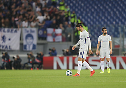 October 31, 2017 - Rome, Italy - Alvaro Morata of Chelsea dejected during the UEFA Champions League group C match between AS Roma and Chelsea FC at Stadio Olimpico on October 31, 2017 in Rome, Italy. (Credit Image: © Ahmad Mora/NurPhoto via ZUMA Press)