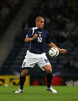 Photo: Andrew Unwin.<br /> Scotland v USA. International Challenge. 12/11/2005.<br /> Scotland's Nigel Quashie.