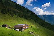 Living in an Alm Hut on the Duersteinalm, Salzburgerland, Austria