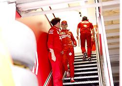 May 23, 2019 - Monte Carlo, Monaco - Motorsports: FIA Formula One World Championship 2019, Grand Prix of Monaco, ..Mattia Binotto (ITA, Scuderia Ferrari Mission Winnow), #16 Charles Leclerc (MCO, Scuderia Ferrari Mission Winnow) (Credit Image: © Hoch Zwei via ZUMA Wire)