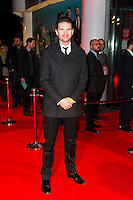 Jeremy Irvine, Virgin Media Shorts, BFI IMAX, London UK, 07 November 2013, Photo by Raimondas Kazenas