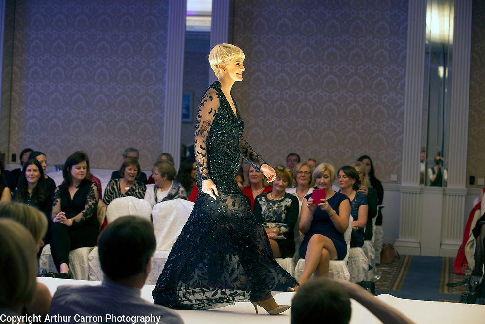8/12/15 Senator Averil Power at the Oireachtas Christmas Charity Fashion Show in aid of Research Motor Neurone in the Shelbourne Hotel. Picture: Arthur Carron
