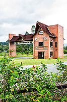 Portal Turístico Germânico. Jaraguá do Sul, Santa Catarina, Brasil. / City Gateway. Jaragua do Sul, Santa Catarina, Brazil.