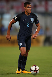 England's Jake Livermore during the 2018 FIFA World Cup Qualifying, Group F match at the National Stadium, Ta' Qali. PRESS ASSOCIATION Photo. Picture date: Friday September 1, 2017. See PA story SOCCER Malta. Photo credit should read: Nick Potts/PA Wire. RESTRICTIONS: Use subject to FA restrictions. Editorial use only. Commercial use only with prior written consent of the FA. No editing except cropping.