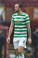 Shane Duffy (Celtic) during the Scottish Premiership match between Motherwell and Celtic at Fir Park, Motherwell, Scotland on 8 November 2020.