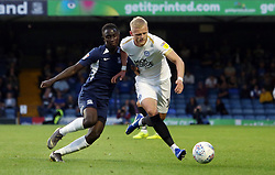 Frazer Blake-Tracy of Peterborough United battles with Elvis Bwomono of Southend United - Mandatory by-line: Joe Dent/JMP - 20/08/2019 - FOOTBALL - Roots Hall - Southend-on-Sea, England - Southend United v Peterborough United - Sky Bet League One