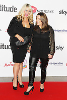 Shelley Smith & Sam Bailey, Attitude Magazine Awards 2013, Royal Courts of Justice, London UK, 15 October 2013, (Photo by Brett D. Cove)