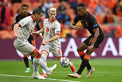 AMSTERDAM, NETHERLANDS - JUNE 21:  during the UEFA Euro 2020 Championship Group C match between North Macedonia and The Netherlands at Johan Cruijff Arena on June 21, 2021 in Amsterdam, Netherlands. (Photo by Lukas Schulze - UEFA)