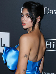 The Recording Academy And Clive Davis' 2019 Pre-GRAMMY Gala held at The Beverly Hilton Hotel on February 9, 2019 in Beverly Hills, Los Angeles, California, United States. 09 Feb 2019 Pictured: Dua Lipa. Photo credit: Xavier Collin/Image Press Agency / MEGA TheMegaAgency.com +1 888 505 6342