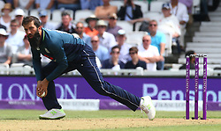 June 13, 2018 - London, England, United Kingdom - England's Moeen Ali .during One Day International Series match between England and Australia at Kia Oval Ground, London, England on 13 June 2018. (Credit Image: © Kieran Galvin/NurPhoto via ZUMA Press)