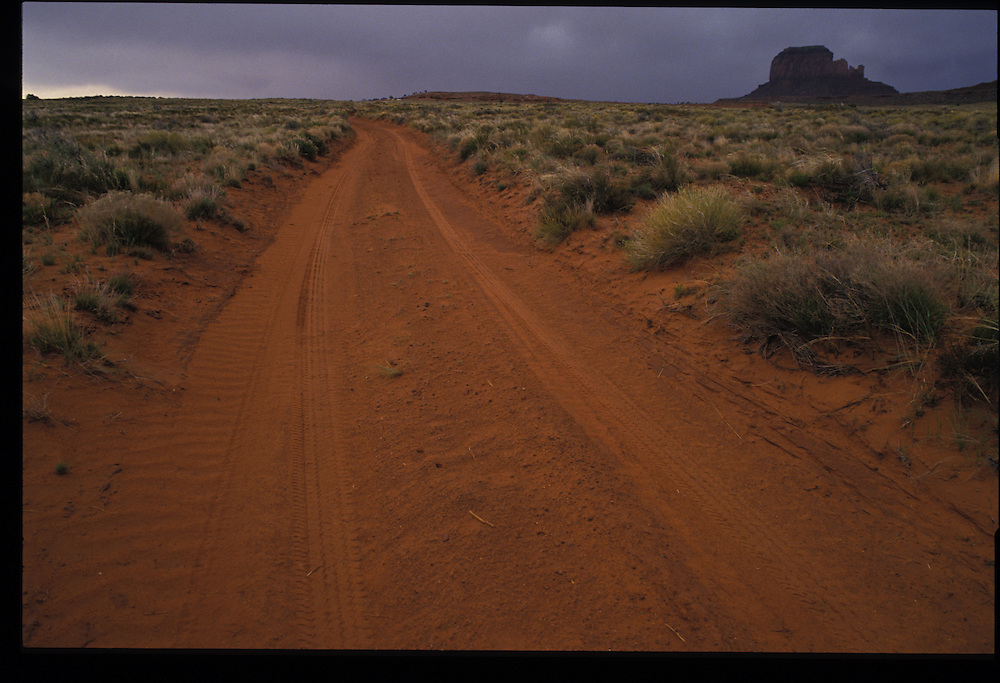 Near Monument Valley.