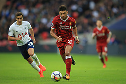 22 October 2017 -  Premier League - Tottenham Hotspur v Liverpool - Alex Oxlade-Chamberlain of Liverpool in action with Harry Winks of Tottenham Hotspur - Photo: Marc Atkins/Offside